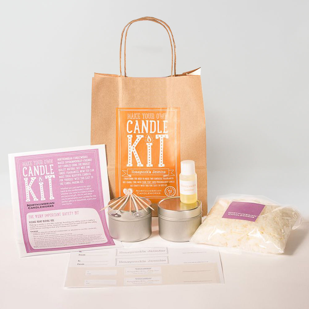 Northumbrian Candleworks - Honeysuckle Jasmine - Candle Making Kits