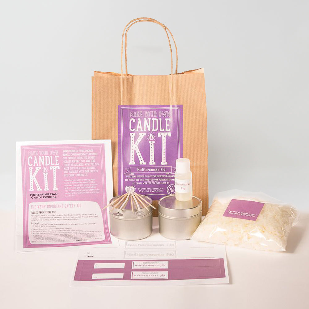 Northumbrian Candleworks - Mediterranean Fig - Candle Making Kit