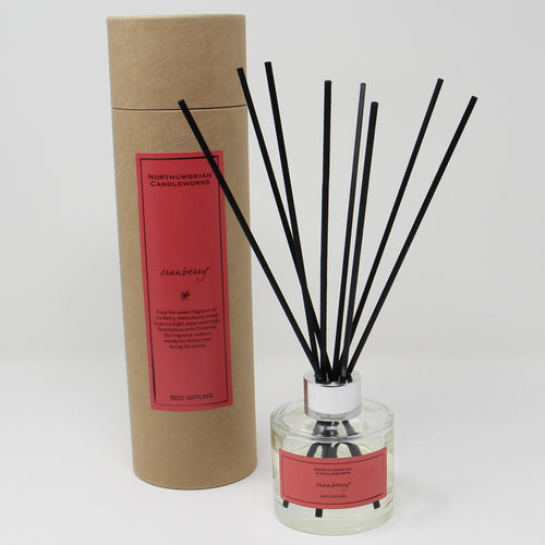 Northumbrian Candleworks - Cranberry - Reed Diffuser with Tube