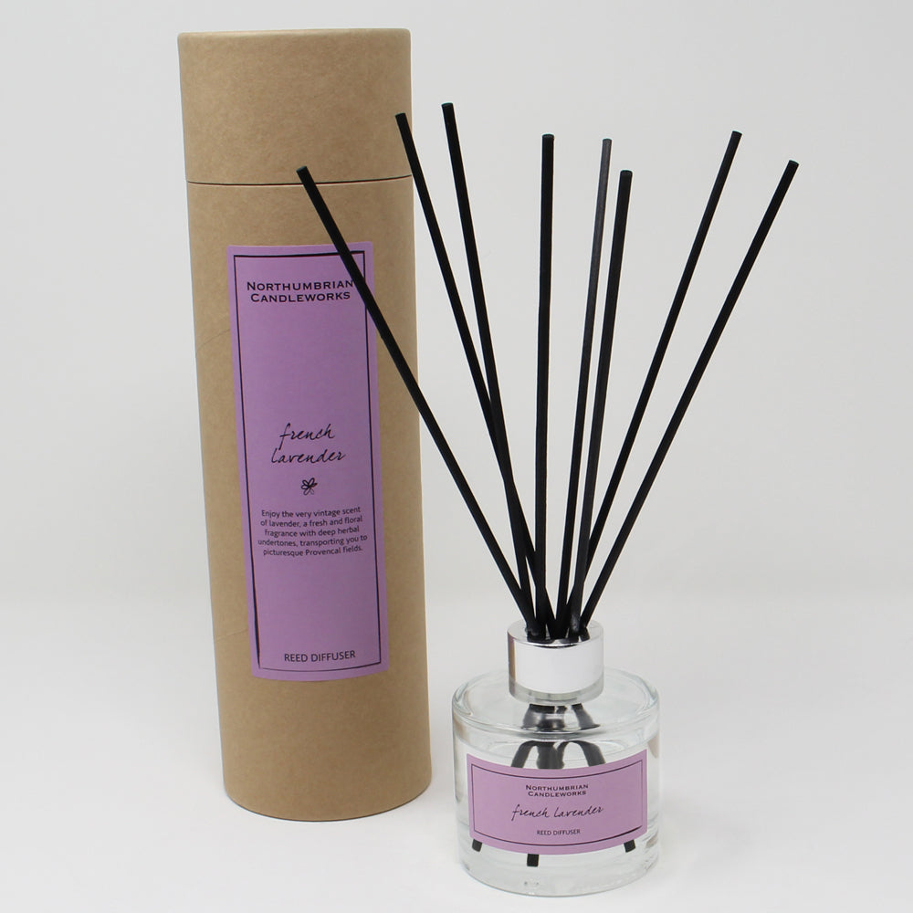 Northumbrian Candleworks - French Lavender - Reed Diffuser with Tube
