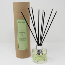 Load image into Gallery viewer, Northumbrian Candleworks - Lime Mandarin & Basil - Reed Diffuser with Tube