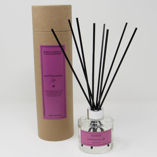 Northumbrian Candleworks - Mediterranean Fig - Reed Diffuser with Tube