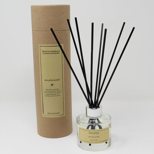 Northumbrian Candleworks - Sandalwood - Reed Diffuser with Tube