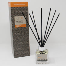 Load image into Gallery viewer, Northumbrian Candleworks - Saffron Iris & Amber - Reed Diffuser with Box