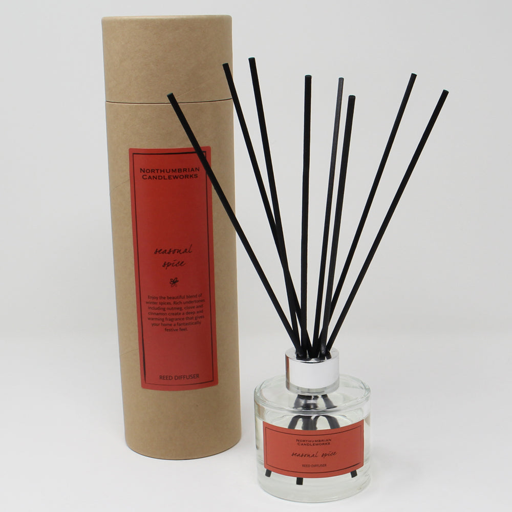 Northumbrian Candleworks - Seasonal Spice - Reed Diffuser with Tube