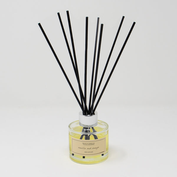 Northumbrian Candleworks - Vanilla & Orange - Reed Diffuser