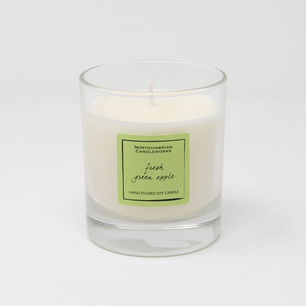 Northumbrian Candleworks - Fresh Green Apple - Candle in a Glass Jar