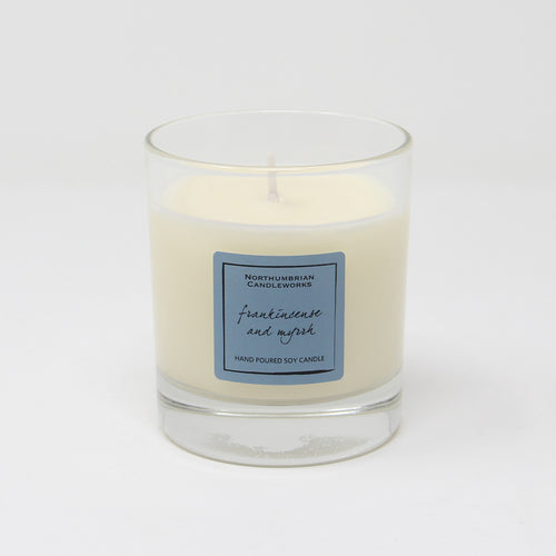 Northumbrian Candleworks - Frankincense & Myrrh - Candle in a Glass Jar
