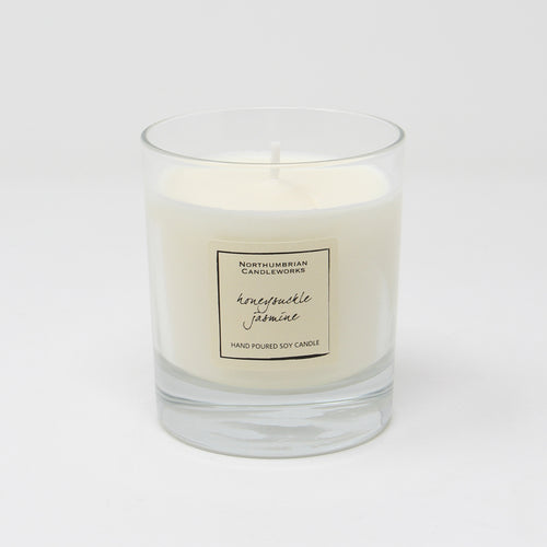 Northumbrian Candleworks - Honeysuckle Jasmine - Candle in a Glass Jar