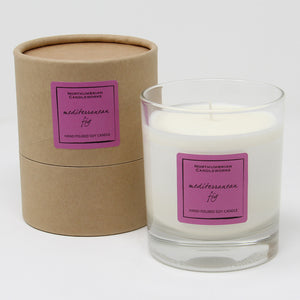 Northumbrian Candleworks - Mediterranean Fig - Candle in a Glass Jar with Tube