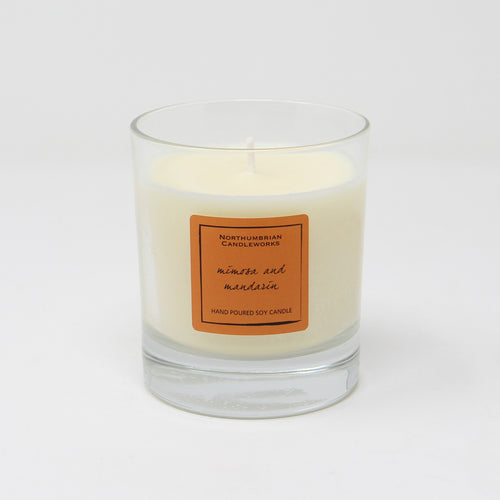 Northumbrian Candleworks - Mimosa & Mandarin - Candle in a Glass Jar