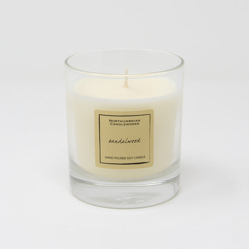 Northumbrian Candleworks - Sandalwood - Candle in a Glass Jar