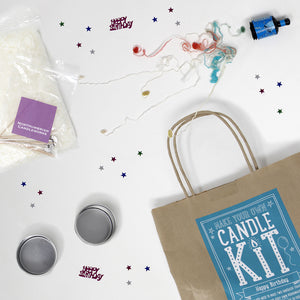 Happy Birthday Candle Making Kit