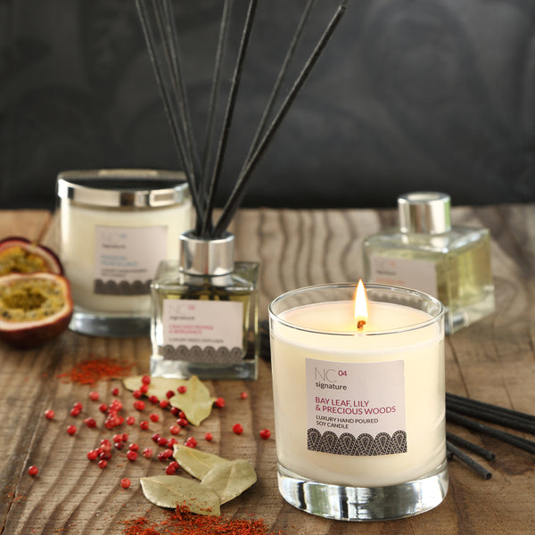 Passion, Pear & Lace Candle in a Glass Jar