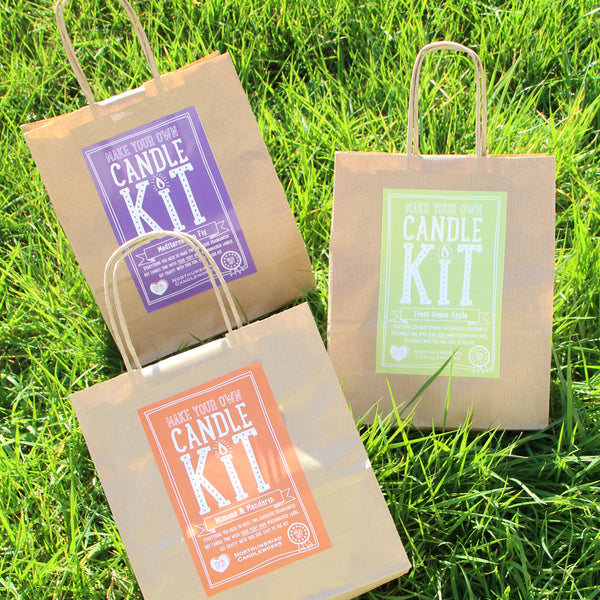Soy Candles for Home - Candle Making Kits by Northumbrian Candleworks
