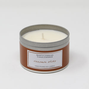 Northumbrian Candleworks - Cinnamon Sticks - Candle in a Tin