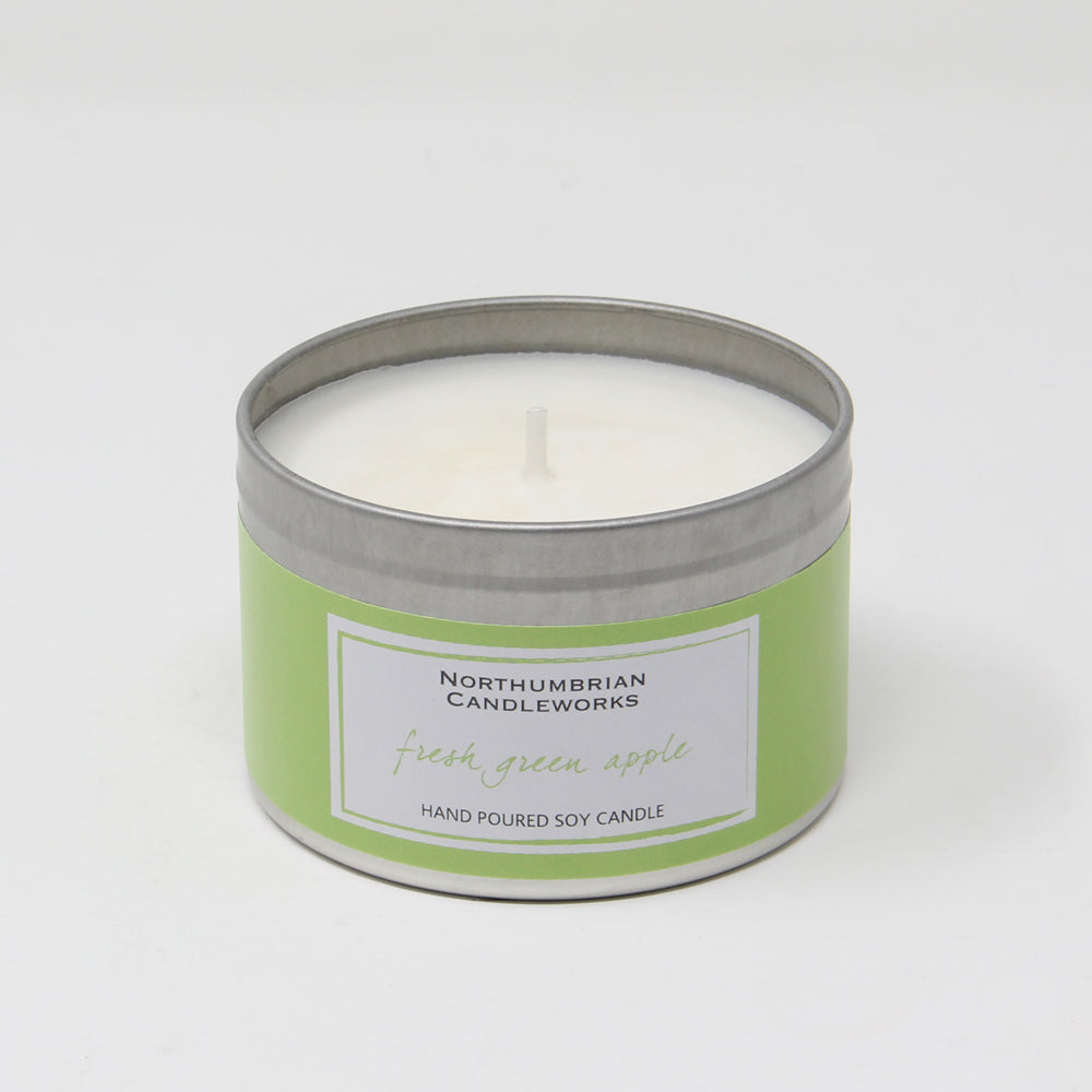 Northumbrian Candleworks - Fresh Green Apple - Candle in a Tin