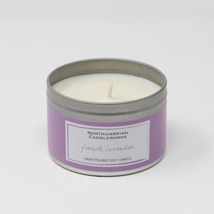 Northumbrian Candleworks - French Lavender - Candle in a Tin