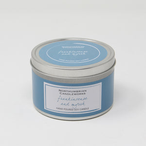 Northumbrian Candleworks - Frankincense & Myrrh - Candle in a Tin with Lid