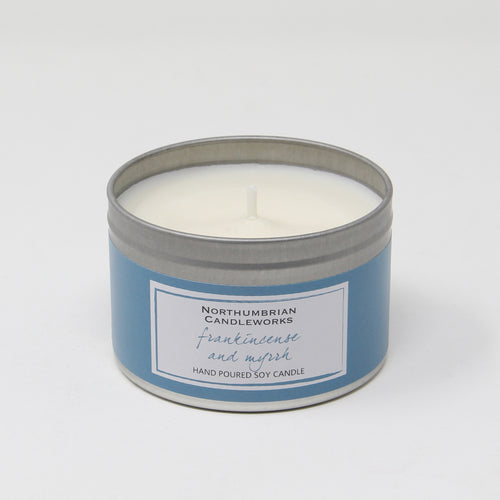 Northumbrian Candleworks - Frankincense & Myrrh - Candle in a Tin