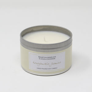 Northumbrian Candleworks - Honeysuckle Jasmine - Candle in a Tin