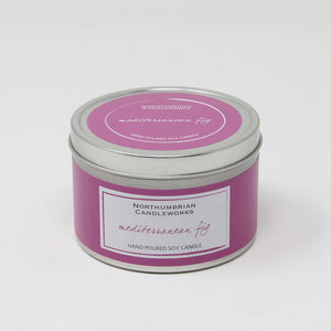 Northumbrian Candleworks - Mediterranean Fig - Candle in a Tin with Lid