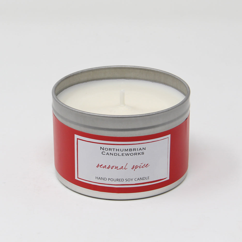 Northumbrian Candleworks - Seasonal Spice - Candle in a Tin