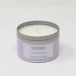 Northumbrian Candleworks - Sweet Violet - Candle in a Tin