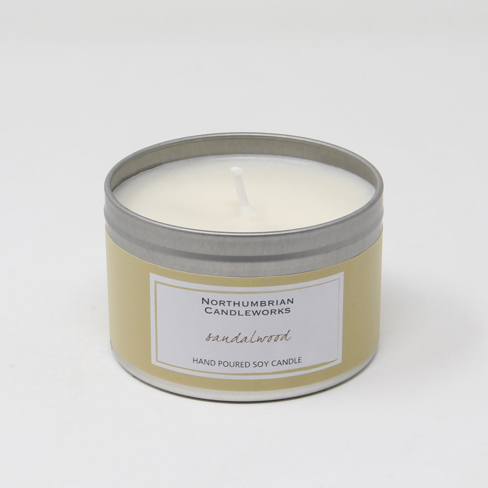 Northumbrian Candleworks - Sandalwood - Candle in a Tin
