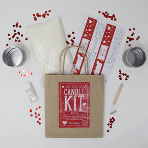 With Love Candle Making Kit