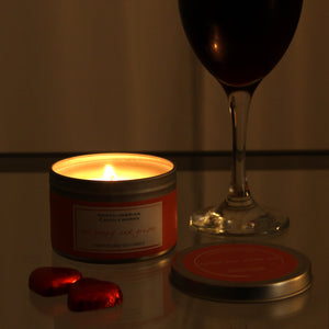 Red Poppy & Ginger Candle in a Tin