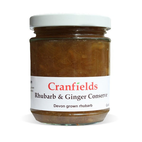 Rhubarb and Ginger Conserve