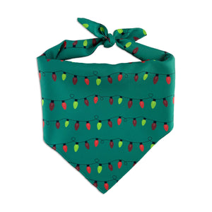 Christmas Lights - Pet Bandanna