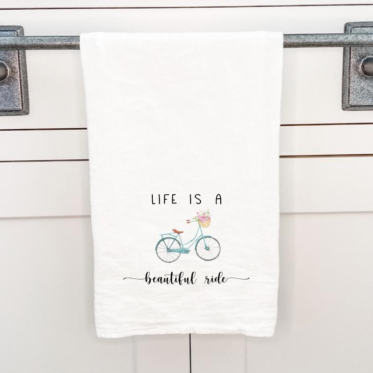 Beautiful Ride - Cotton Tea Towel