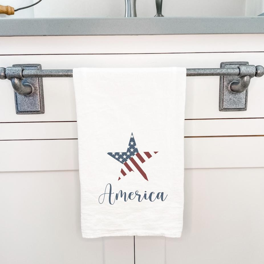 America Star - Cotton Tea Towel