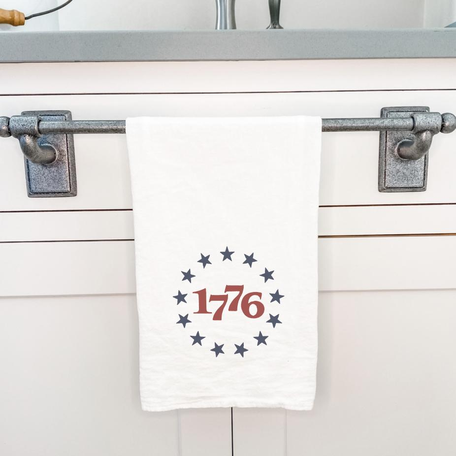1776 America - Cotton Tea Towel