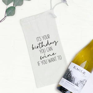 It's Your Birthday - Wine Bag Gift Tote