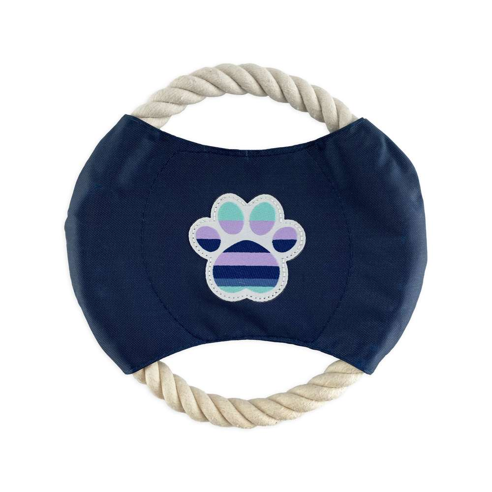 Metro Stripes - Rope Disc Toy