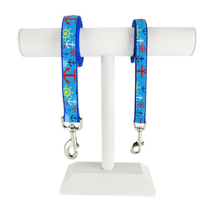 Ship Wheels & Anchors - Pet Leashes