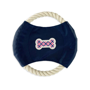 Preppy Plaid - Rope Disc Toy