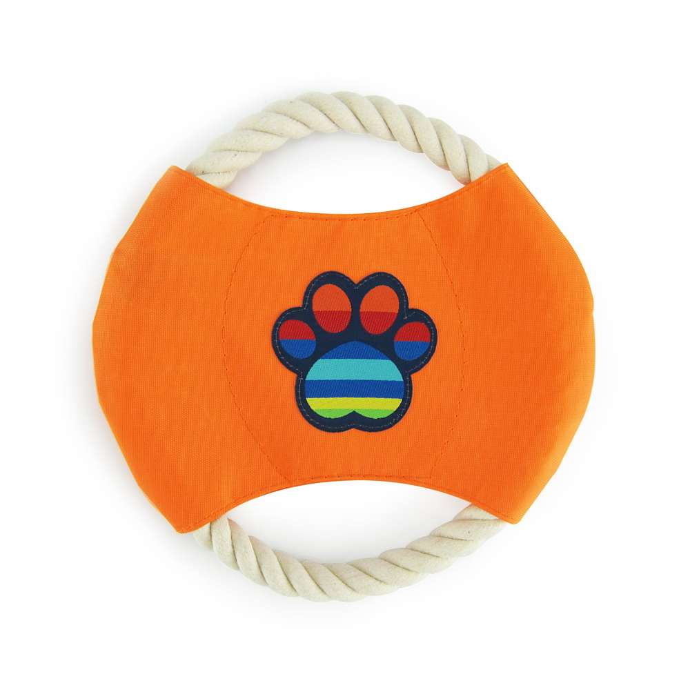 Party Stripes - Rope Disc Toy
