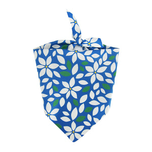 Blue Floral - Pet Bandanna