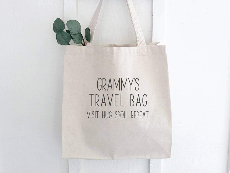 Grammy's Travel Bag - Canvas Tote Bag