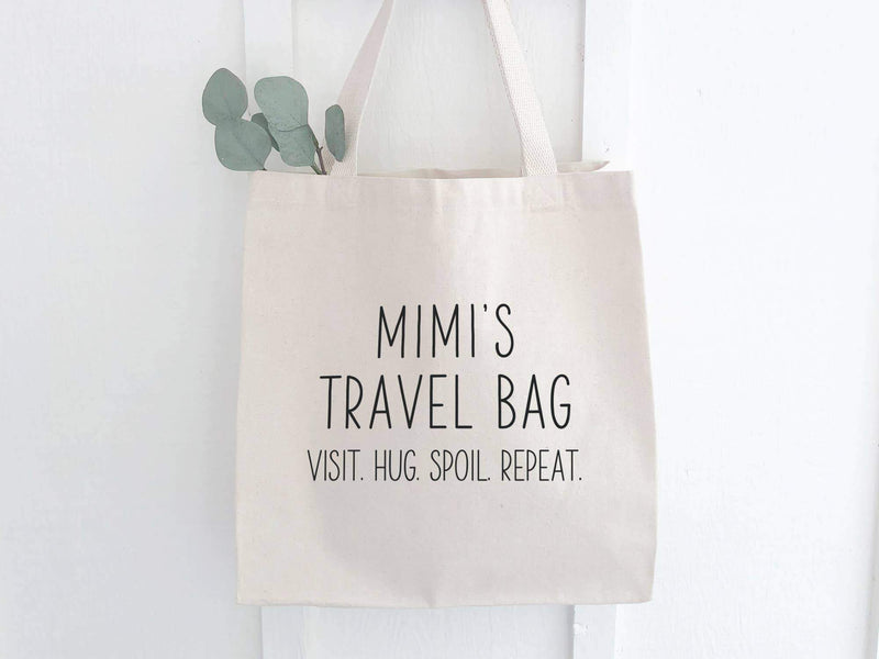 Mimi's Travel Bag - Canvas Tote Bag