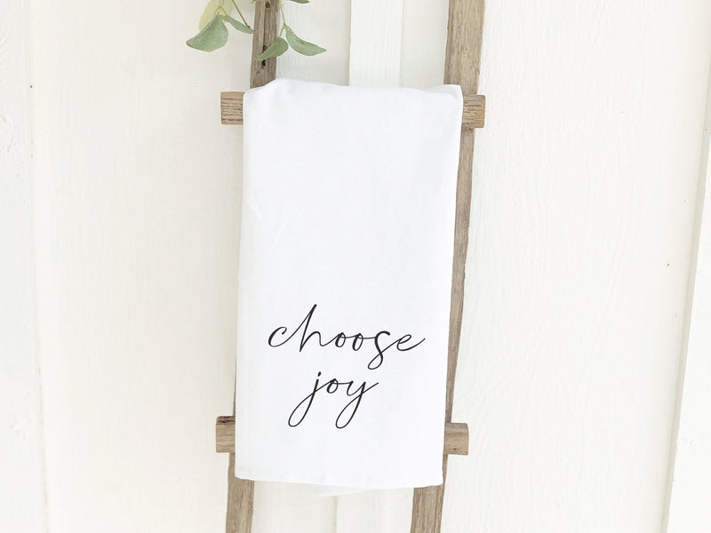 Choose Joy - Cotton Tea Towel