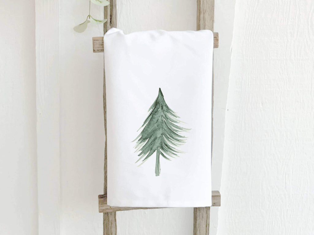 Evergreen Tree - Cotton Tea Towel