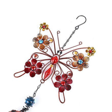 Load image into Gallery viewer, Butterfly with Flowers Wind Chimes - 2 styles - Treasure Knot