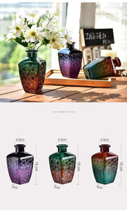 Treasure Knot Vases & Bowls Retro Style Mini Glass Vase Retro Style Mini Glass Vase | Treasure Knot
