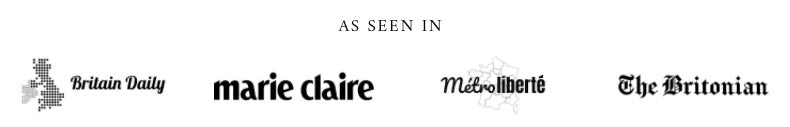 MayfairSilk as seen in Marie Claire, Britain Daily and Métroliberté