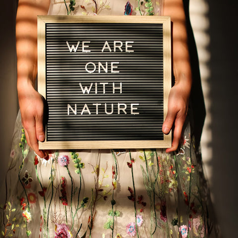 We are one with nature